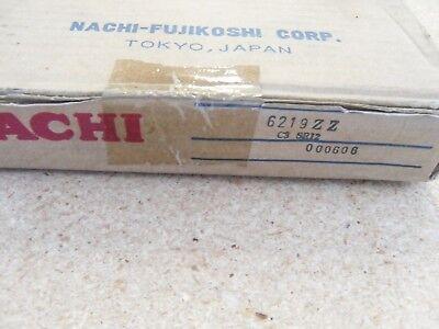 NACHI 10 PCS 6201 ZZE C3 SR12 DOUBLE SHIELD