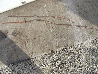 Allis Chalmers B Tractor Ac Engine Motor Choke Long Throttle Governor Rod Rods