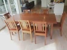 Nicholas Dattner Dining Table & Chairs Brighton Bayside Area Preview