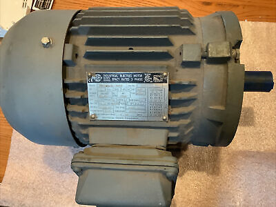 Worldwide Electric Motor 1 Hp 3 Phase Epact Rated New 230460v