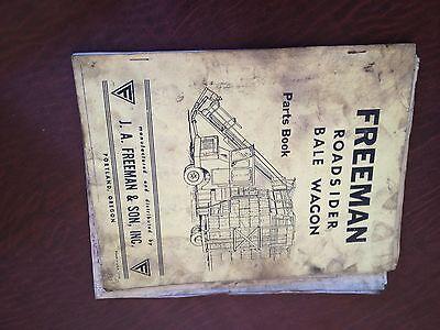 Freeman Bale Wagon Roadsider Parts Catalog Book Manual 1975