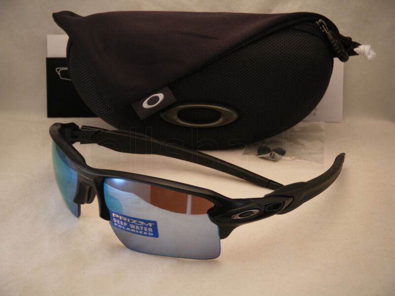 cd22c1ac5b Oakley Flak Jacket 2.0 XL Matte Black w Prizm H20 Polar Lens (oo9188 ...