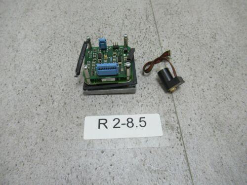Moog D123-089 + Moog D123-088b + Coil Moog B61699 Proportionalsteuerung Platine