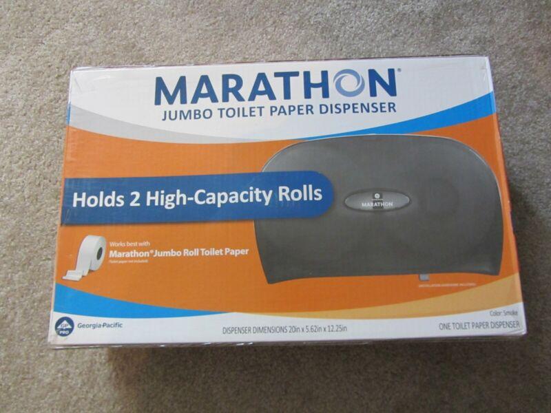 Marathon 2-Roll Jumbo Toilet Paper Dispenser, Smoke NEW 6404017 SALE!!!