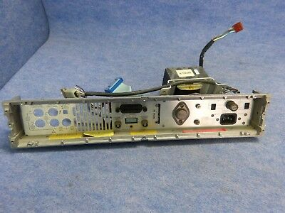 Hp 3456a Digital Voltmeter Back Panel W Hp 9100-0469 Power Ttansformer