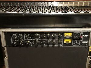 Drawmer 1960 2-Channel Vacuum Mic Preamp Compressor