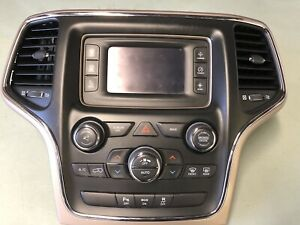 2014 Jeep Grand Cherokee Radio