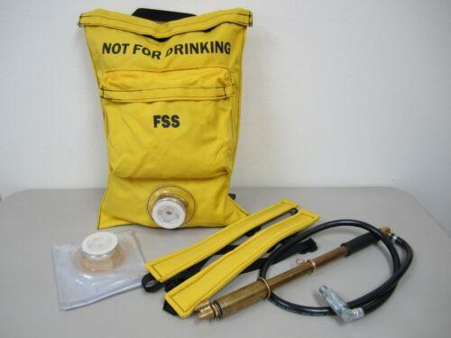 FSS 8465-01-321-1678 Nylon Duck 5 Gallon Fire Suppression Bag