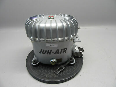 Jun-air Model 6 100-120v 50-60hz 120psi 2900-3500rmin 4 Gallon Compressor