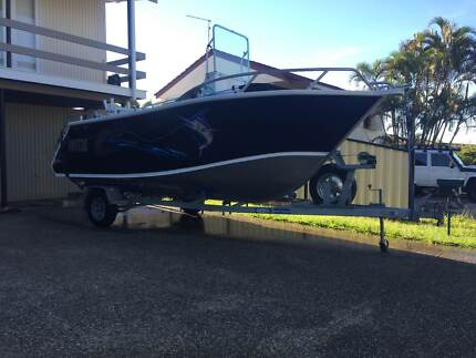 Formosa 520 Centre Console Evinrude ETEC 115hp Redcliffe Redcliffe Area Preview