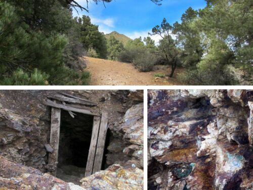 Hualapai Arizona Gold Silver Mine Historic Hidden Mining Claim Adit Shaft Au Ag