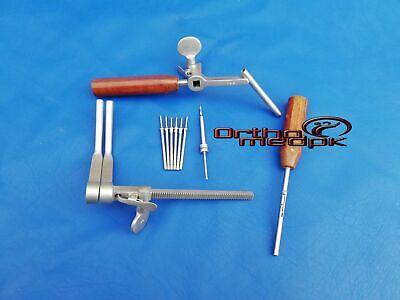 Caspar Vertebral Body Distraction Left Set Veterinary Orthopedic Instrument A