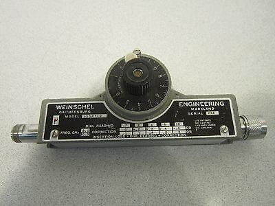 Weinschel Engineering 953p-10 Attenuator Freq Ghz 2.510.0 Priced To Move