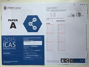 Icas English Past papers Year 7