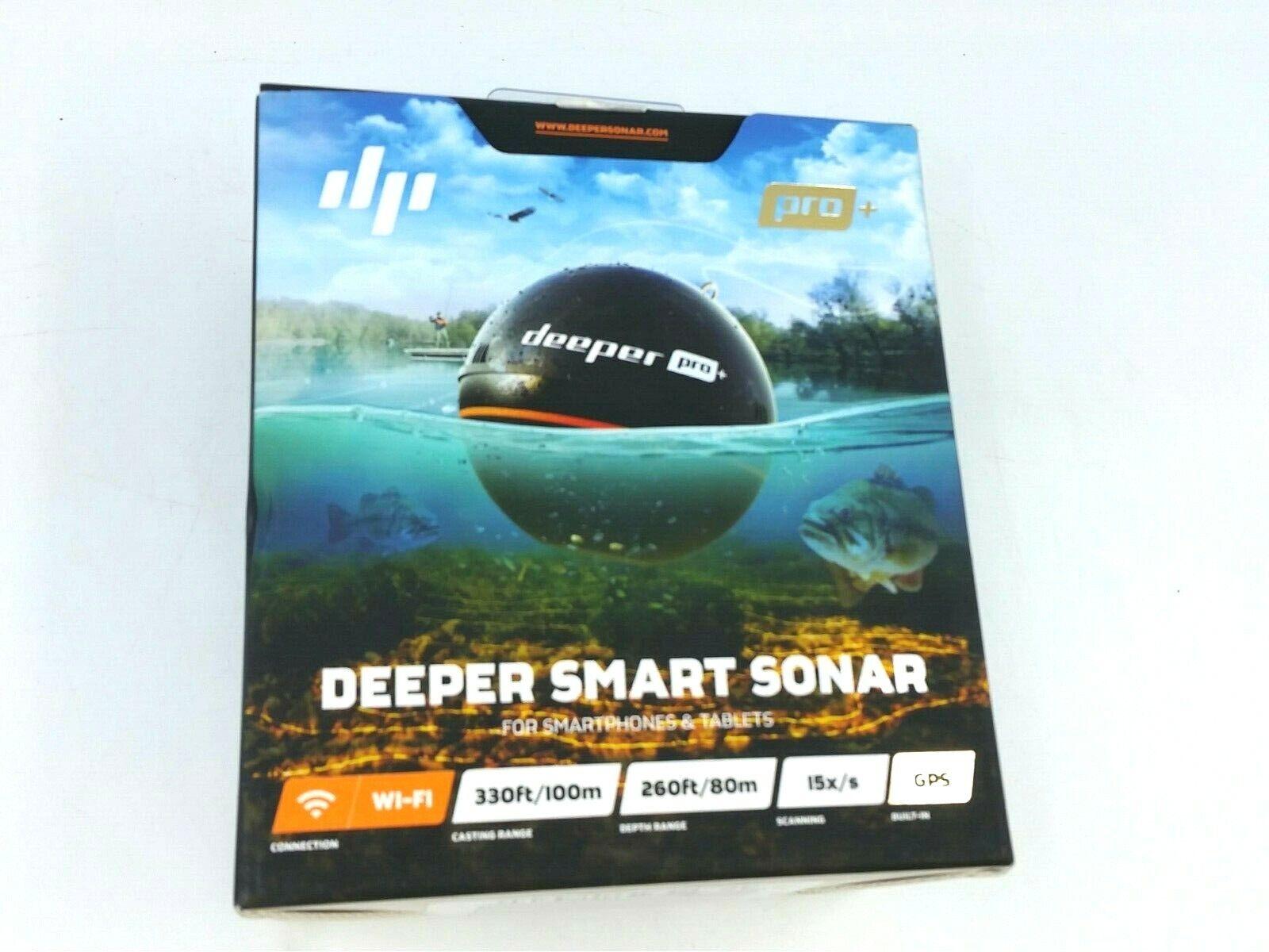 NEW Deeper Pro GPS Wi-fi Wireless Smart Sonar Fish Finder