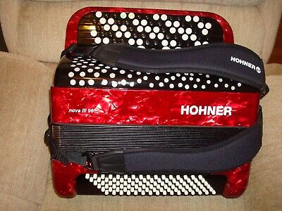 HOHNER CHROMATIC ACCORDION - C SYSTEM - 5 ROWS