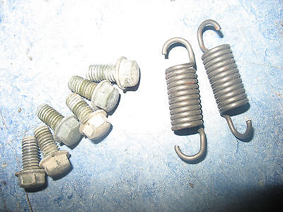 REAR BRAKE SPRINGS BOLTS 2002 CAN-AM DS50 BOMBARDIER DS 50 02