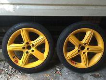"""Very rare *HSV 18"""" space saver wheel/s pirelli tyres West Hoxton Liverpool Area Preview"""