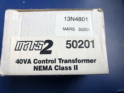 Mars 2 50201 40VA Control Transformer NEMA Class II 120V Foot Mount Sec. 24V (Foot Mount Transformer)
