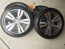 "VF Commodore 18"" Alloy Wheels and Good Tyres for Sale Dandenong Greater Dandenong Preview"
