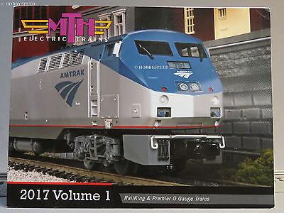 MTH 2017 VOLUME 1 TRAIN CATALOG toy o gauge train lionel standard dealer NEW