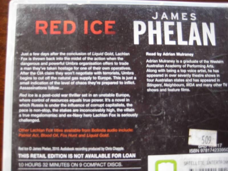 red ice phelan james