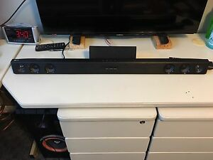 LG sound bar and sub