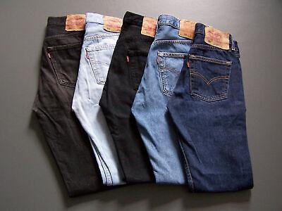 Brand New Levis 501 Original Fit Men's Button Fly Levi's Jeans Colors Sizes