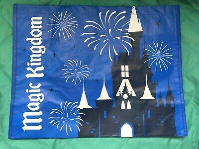 Disney World Parks Magic Kingdom Reusable Shopping Tote Bag Medium Bag NEW NWT