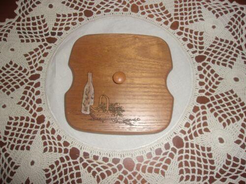 KS Lanam Wooden Laser Cut Lid fits Longaberger Tarragon Basket