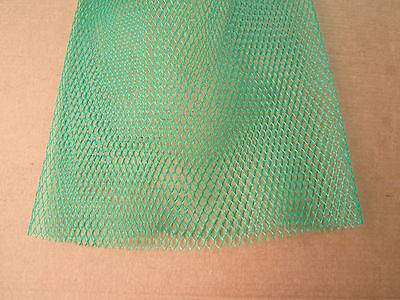 FLEXIBLE POLYETHYLENE PLASTIC PROTECTIVE NETTING FOR 10