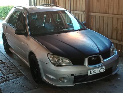 Subaru Impreza wagon 2006 luxury