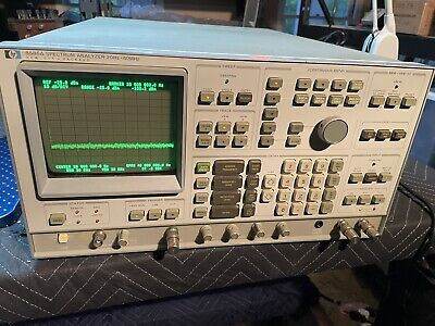 Hp 3585a 20 Hz - 40 Mhz Spectrum Analyzer Working And With Manual