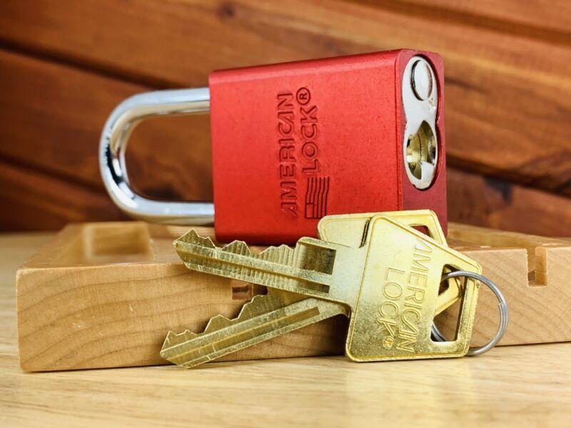 American Series 1100 High Security Padlock w/ 2 Keys Locksport USA