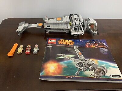 Lego Star Wars Set 75050 B-Wing 100% Complete w/Manual