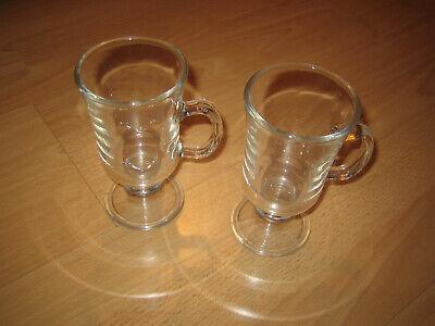 2 Stück Schokolade (2 Stück Gläser für Grog  heiße Schokolade  Kakao  Tee  200ml)