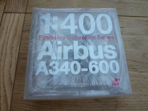 VIRGIN ATLANTIC 1/400 DIE CAST AIRBUS A340-600 PREMIER COLLECTION BOXED SEALED