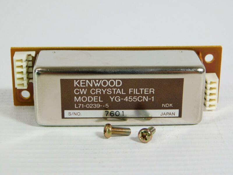 Kenwood YG-455CN-1 CW Filter for TS-940S 930S 450S 850S (with screws, nice)