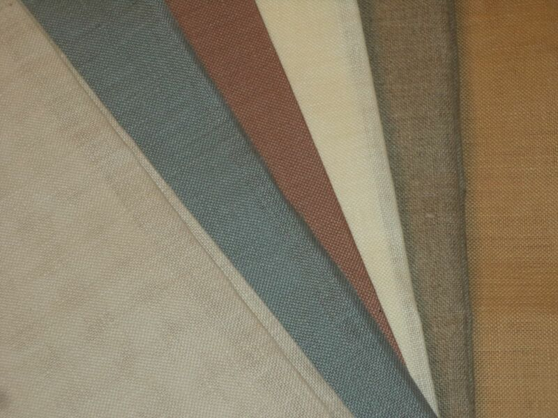WICHELT Fabric for Cross Stitch LINEN, Tula, JAZLYN, Cashel, LUGANA, You Choose!