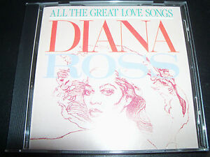 Diana-Ross-All-The-Greatest-Love-Songs-Australia-CD-Like-New