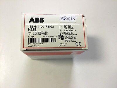 ABB Schütz Contactor   N22E Sicherheitsschütz 1SBH141001R8022       358/18