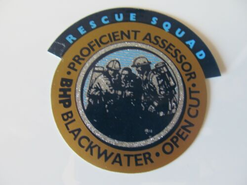 Coal Mining Stickers, BHP Blackwater, Open Cut