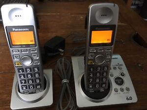 Panasonic Cordless Phones & Answering Machine