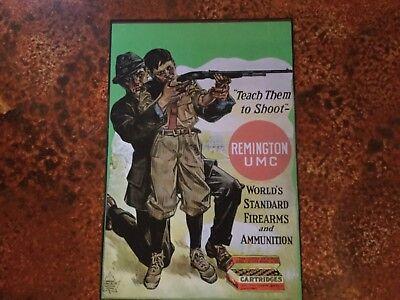 Remington poster sign