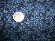 Vintage Cotton Fabric Paisley