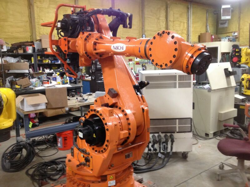 Nachi Robot, Used robot, Fanuc Robot, Welding robot, ABB Robot, Motoman robot