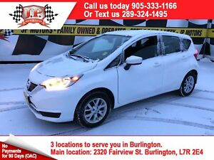 2017 Nissan Versa Note S, Auto, Heated Seats, Back Up Camera
