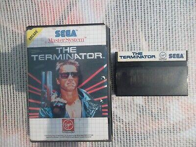 Jeu Master system / Ms Game The Terminator + Boite PAL retro SEGA original*