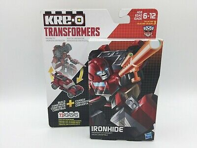TRANSFORMERS ~ Ironhide ~ KRE-O ~ Kreon Battle Changers ~ Hasbro