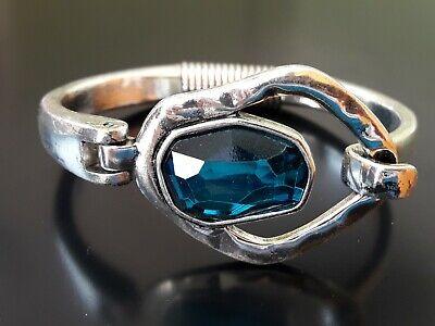 Media pulsera Zamak piedra cristal TURQUESA fornitura abalorio pulseras (MEP-01)